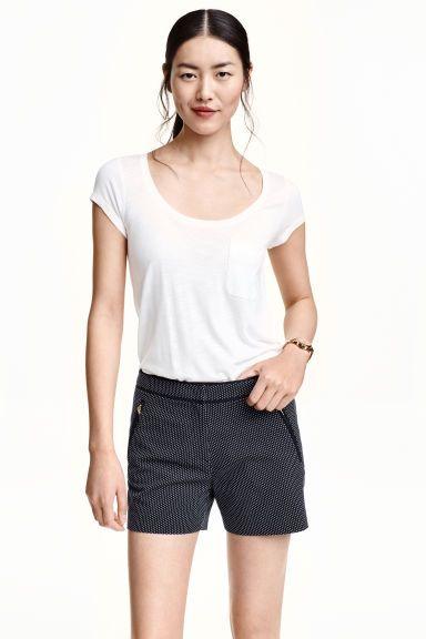 Šortky z žakárové tkaniny | H&M