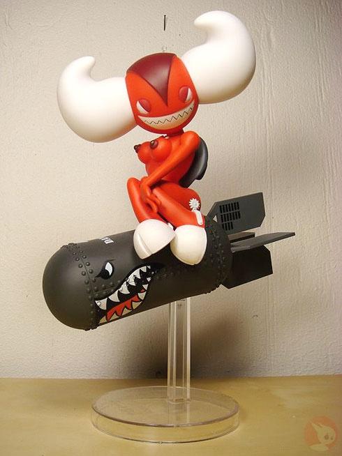 """Akuma Bomb"" | Danger Edition | Artist: Huck Gee | Image 1 of 2"