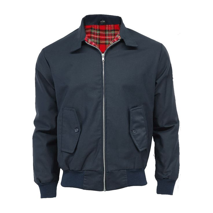 Herren Raiken Klassisch Retro Stil Bomber Harrington Jacke Größe in Kleidung & Accessoires, Herrenmode, Jacken & Mäntel | eBay