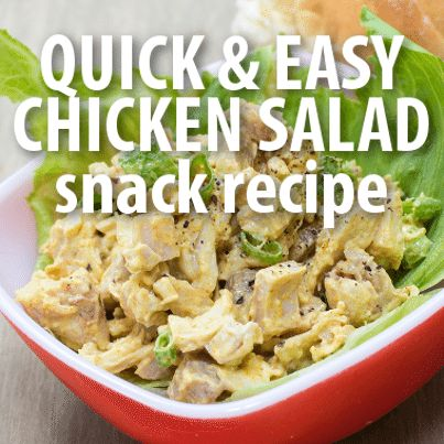 Do you need a quick, filling, easy meal? Daphne Oz shared this Crisp Chicken Salad Recipe that became a go-to for her and her husband as new parents.