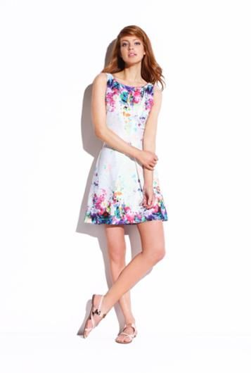 Floral dress multicoloured - Promod
