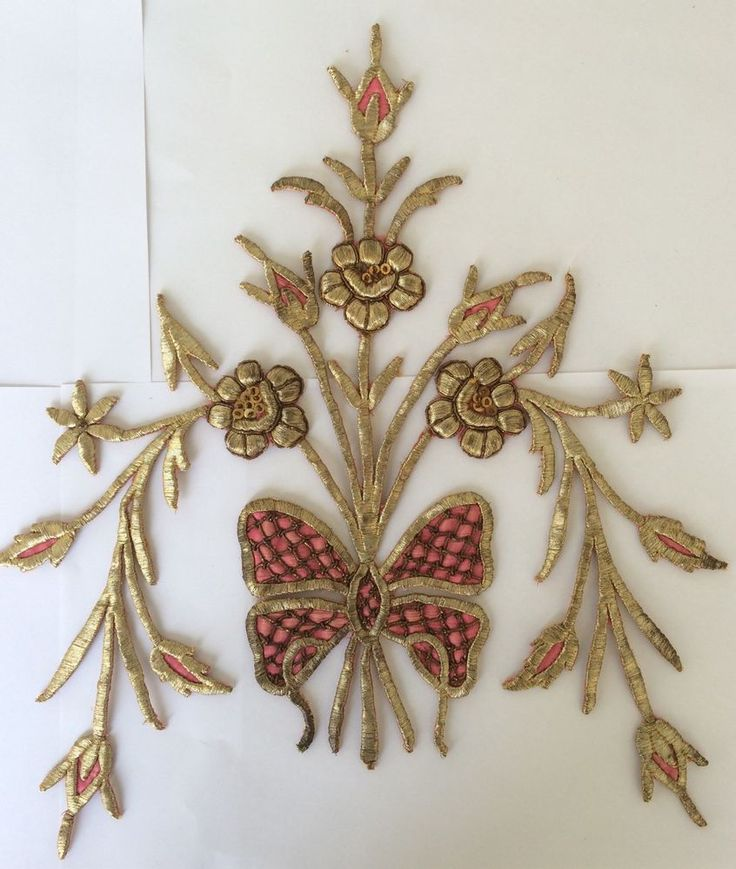 Another gold embroidery piece from a Bindalli  (Pharyah)