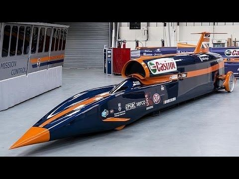 Inside Bloodhound SSC: the 1000 mph car - focus