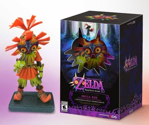 Majora's Mask 3DS Bundle with Skull Kid Announced!!!! I WANT!!! I WANT!!! I WANT!!!!