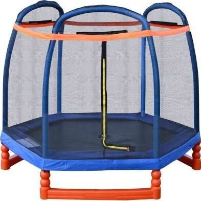 netted trampoline - Google Search