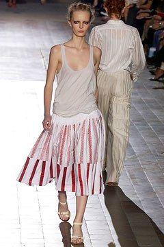 Dries Van Noten Spring 2003 Ready-to-Wear Fashion Show - Ksenia Maximova (CITY), Dries Van Noten