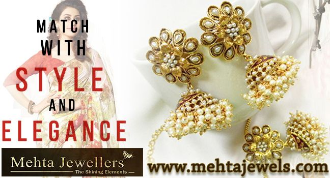 Buy JEWELLERY ONLINE At Mehta Jewellers. The latest  fashion jewellery trends by shopping online.