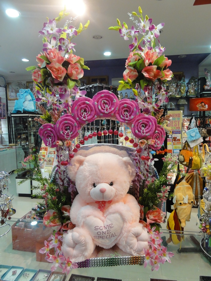 cute flower teddy buke | Cool stuff to buy | Pinterest
