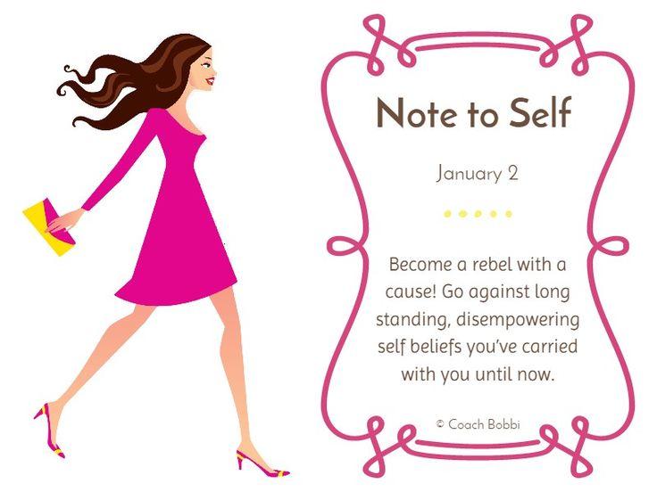 Note to Self: January 2 #trust #newyear #newme #listen #love #notetoself #rebel #believe