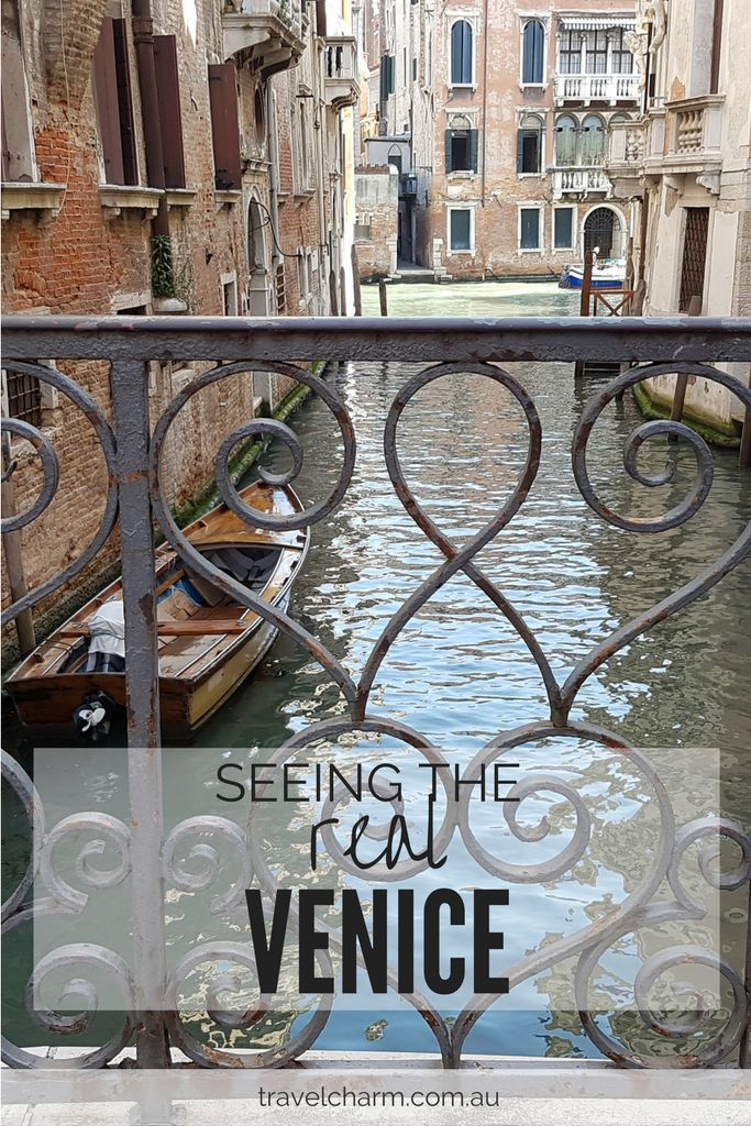 Venice is so much more than the tourist traps. Get lost, explore and discover the real Venice and see the amazing places you discover.