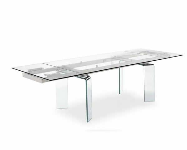 Calligaris: tavoli in cristallo (Foto) | Design Mag