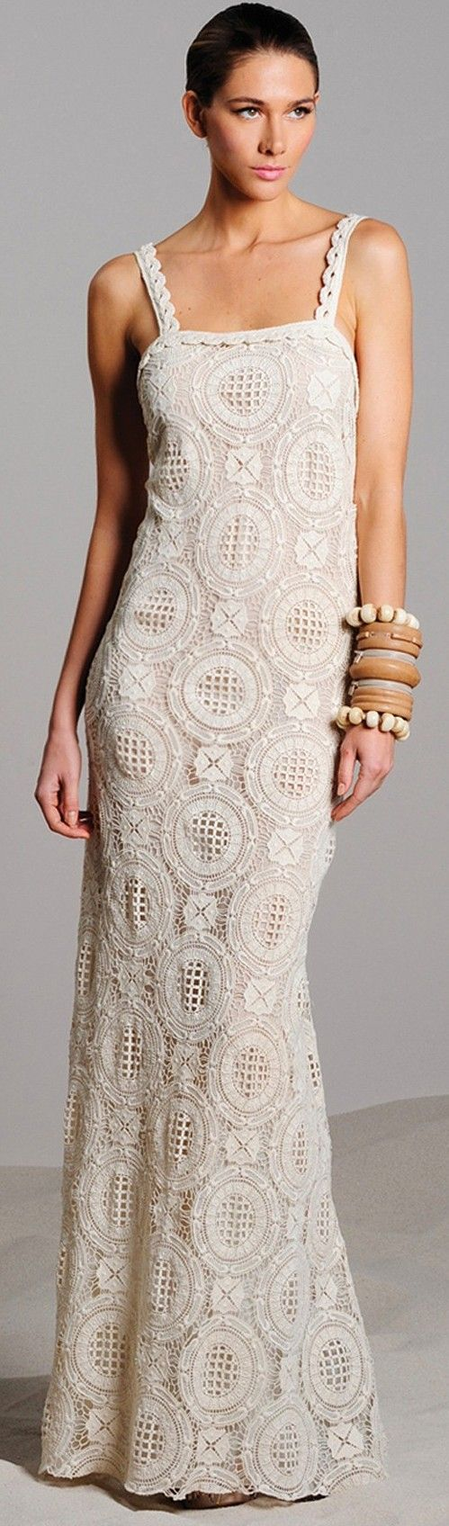 ALEXIS Brigitta Sleeveless Crochet Dress ♥✤   Keep the Glamour   BeStayBeautiful