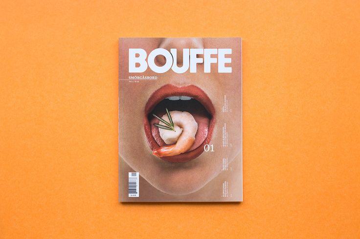 BOUFFE Mag #1 on Behance