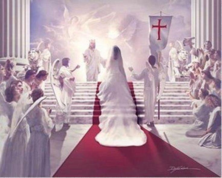 Jésus accueille son épouse, l'Eglise