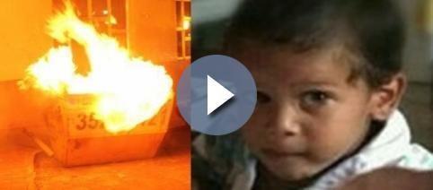 Mãe monstra joga bebê no lixo em chamas por ele ser a...