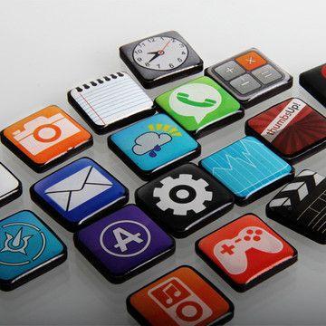 App Magnets Set Of 18
