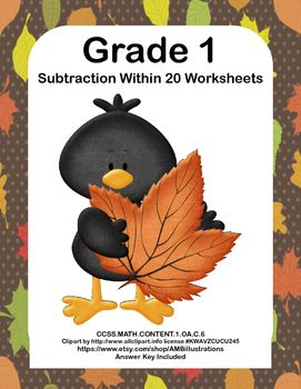 Number Names Worksheets : kindergarten halloween math activities ...