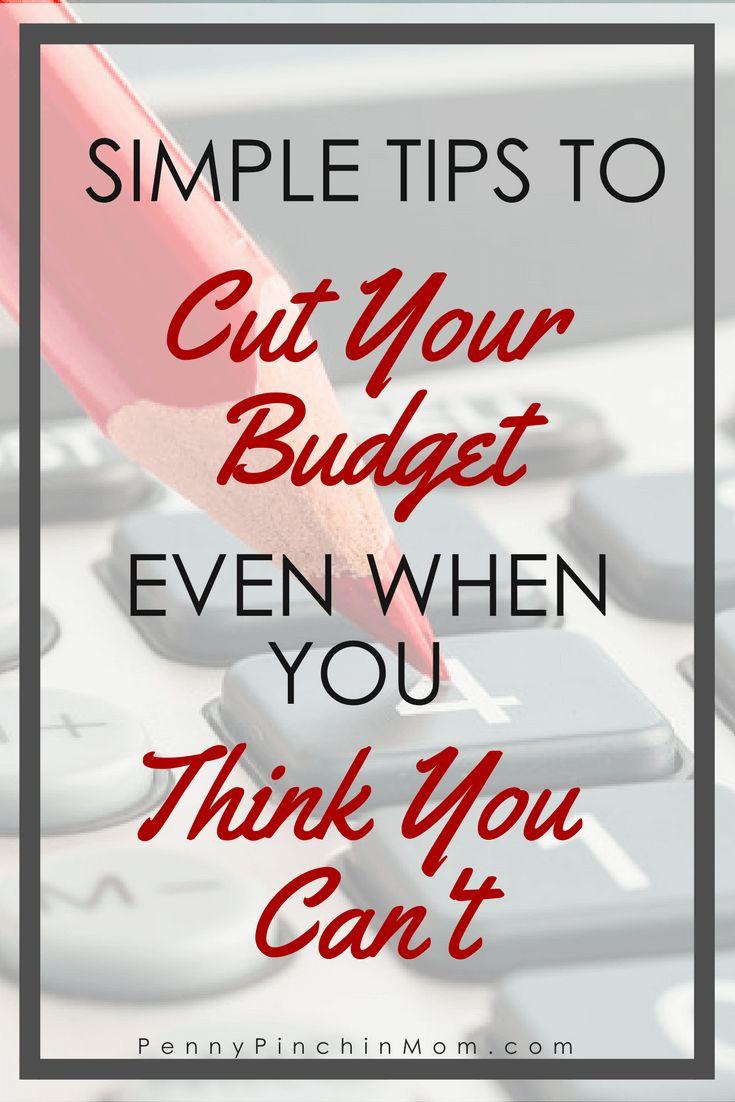 Budget Tips | Budget Help | Saving Money | Lowering Your Budget | Budget Printable via @PennyPinchinMom
