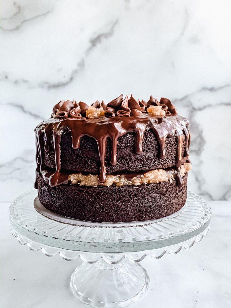 German chocolate cake allergylicious in 2020 gluten