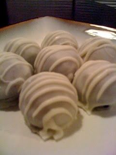 Delicious and dangerous-Irish Car Bomb Cake Balls! (Made with Guinness and Bailey's)