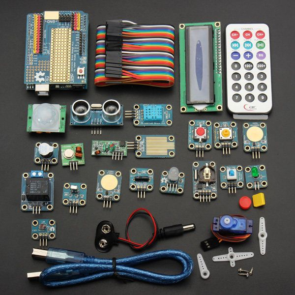Arduino UNO R3 Advanced Module Kit Electronic Learning For Arduino