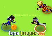 Juego de Dragon Ball Football   JUEGOS GRATIS: Minijuego de Dragon Ball donde Goku y sus amigos tendrán un juego de fútbol con las esferas del dragón, trata de meter todos los golpes, si puedes!, primero selecciona a tu personaje favorito y luego a jugar.