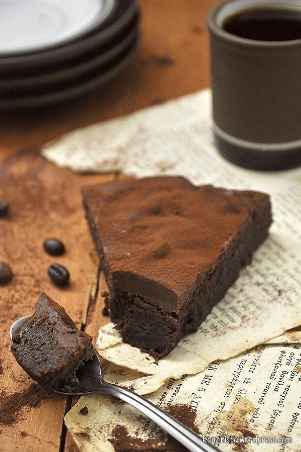 Σουηδικό κέικ/μπράουνις σοκολάτας/Swedish chocolate cake