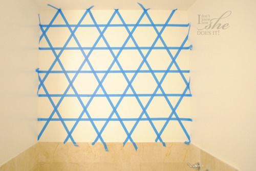 Easy To Do Wall Pattern I Don 39 T Know How She Does It