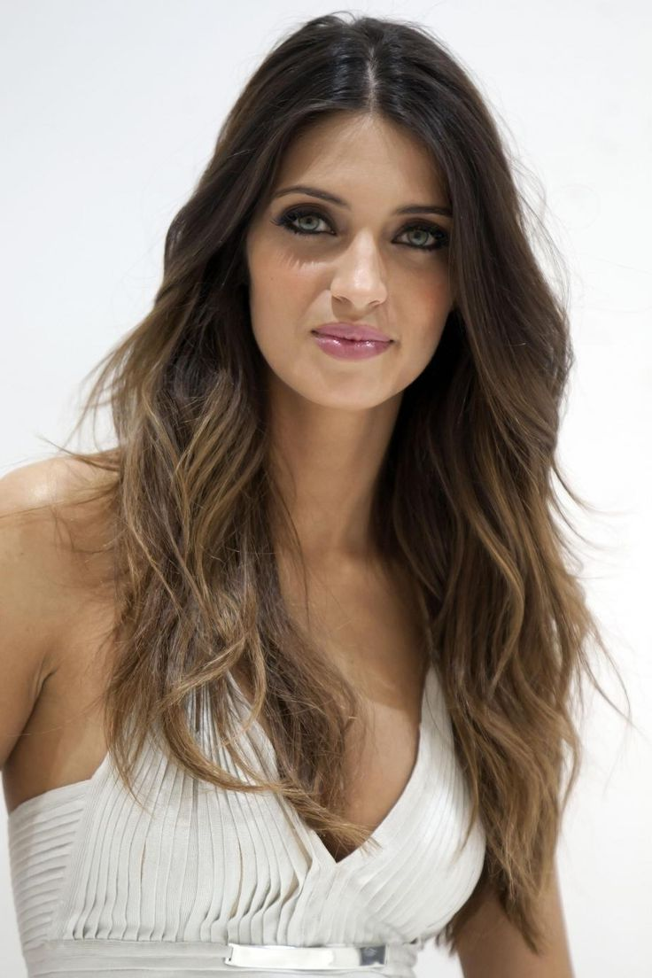 Dark Brown Hair With Ombre Cheveux On Pinterest Dark Brown Light Brown Ombre Hair And Ombre