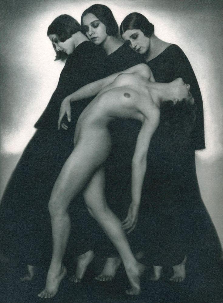 [Bewegungsstudie. Rudolf Koppitz, circa 1925.]