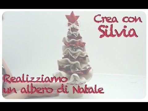 Tutorial: Albero di Natale in tessuto - YouTube