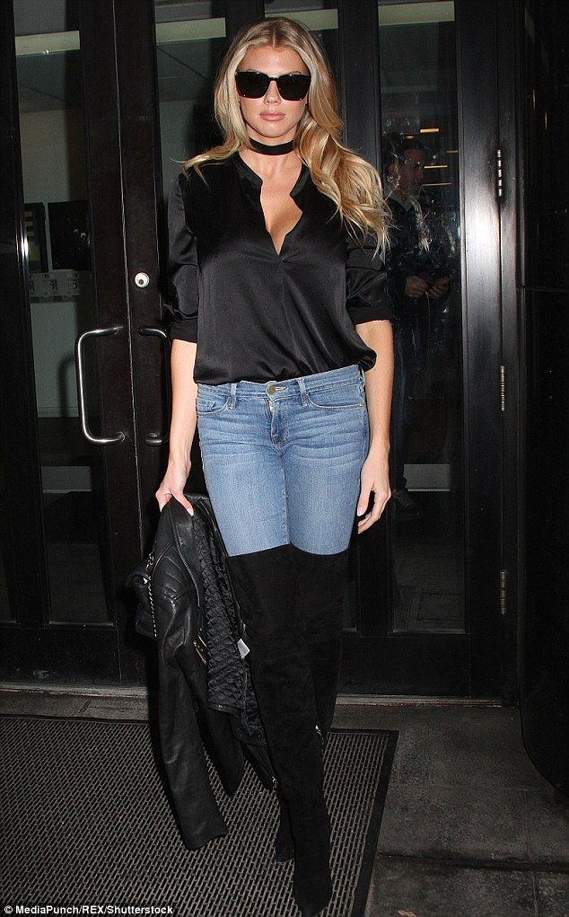 Casual cool: Charlotte McKinney was spotted out and about in New York City on Tuesday morning