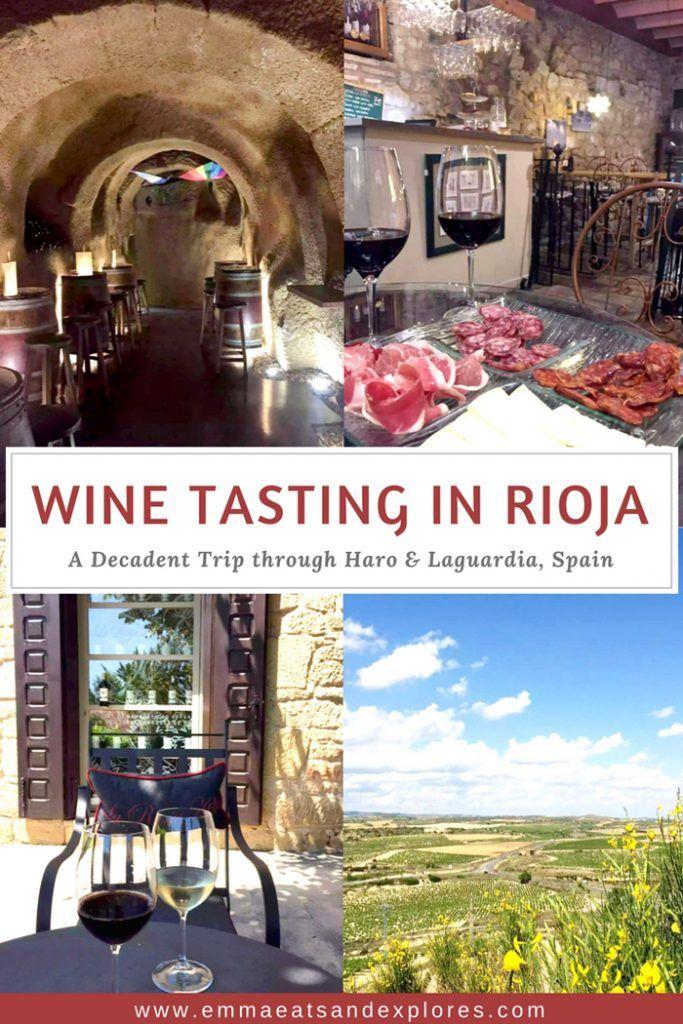 Wine Tasting in Rioja, Spain - Emma Eats & Explores