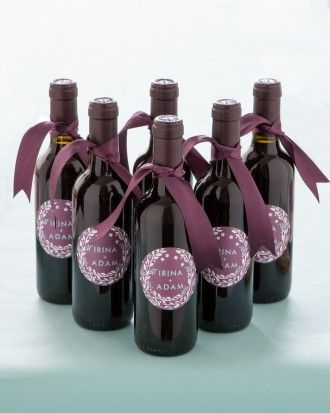 Mini bottles of wine as favors?