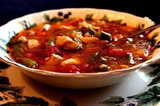 Sweet Tea and Cornbread: Chicken Gumbo Soup!