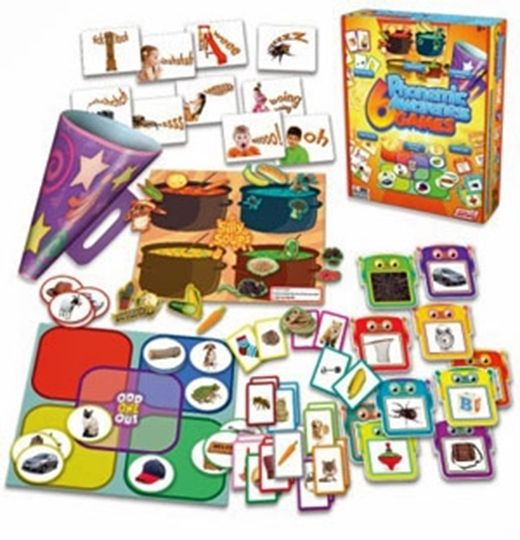 Picture of 6 Phonemic Awareness Games