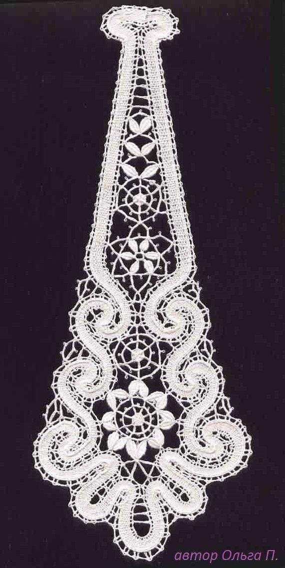 Lace Tie Aurora-1.Кружевной галстук Аврора-1 от MadamKruje на Etsy