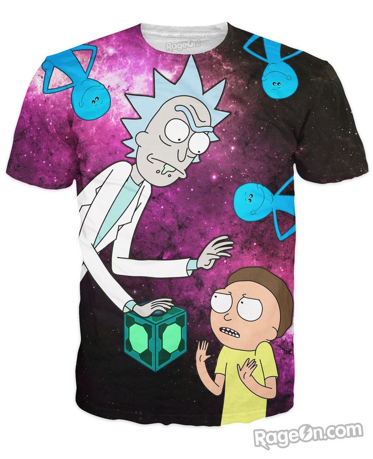 Has anyone got a picture of the Rick And Morty Slow Mo Guys shirt ...