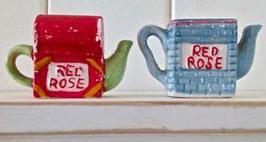 Vintage 1997. Collection. Figurines porcelaine RED ROSE