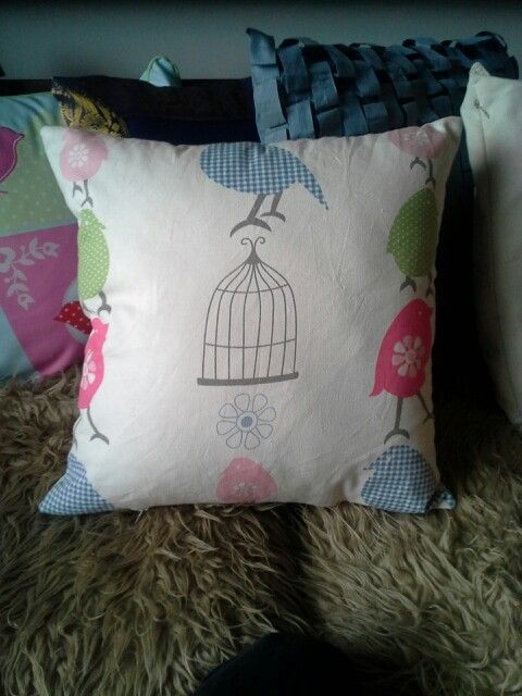 Cushion to match the pinboard!