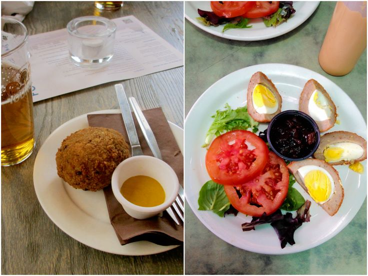 The Scotch Egg: the London vs. US experience. Check out my thoughts @ jenligsworld.blogspot.com!