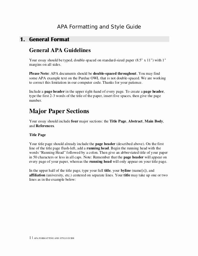 Essay Double Spaced Example Beautiful Essay Double Spaced Format