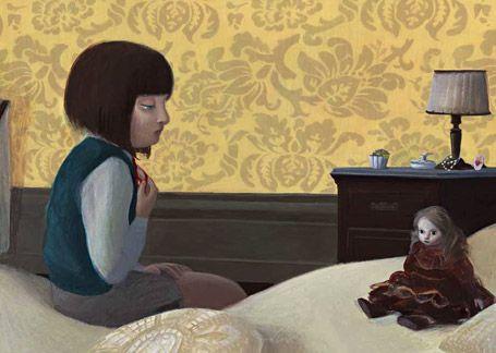 "Mara Cerri – Illustration for ""Via Curiel 8""."