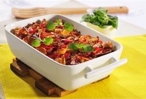 Zapiekanka z kurczaka z warzywami / Chicken casserole with vegetables  www.winiary.pl