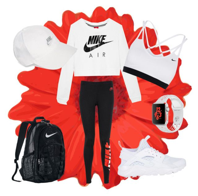 It's all about NIKE by ingridlundevall on Polyvore featuring polyvore, мода, style, NIKE, fashion and clothing