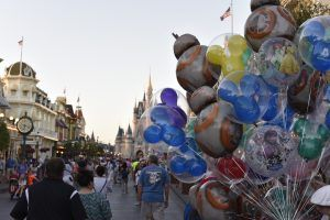 Visiting Disney World in the summer presents challenges with heat.  Click the link to find some things that we have learned about coping with Florida heat.  #Disney #Magic Kingdom #heat #travel #vacation #family #familyfun #Disneyworld