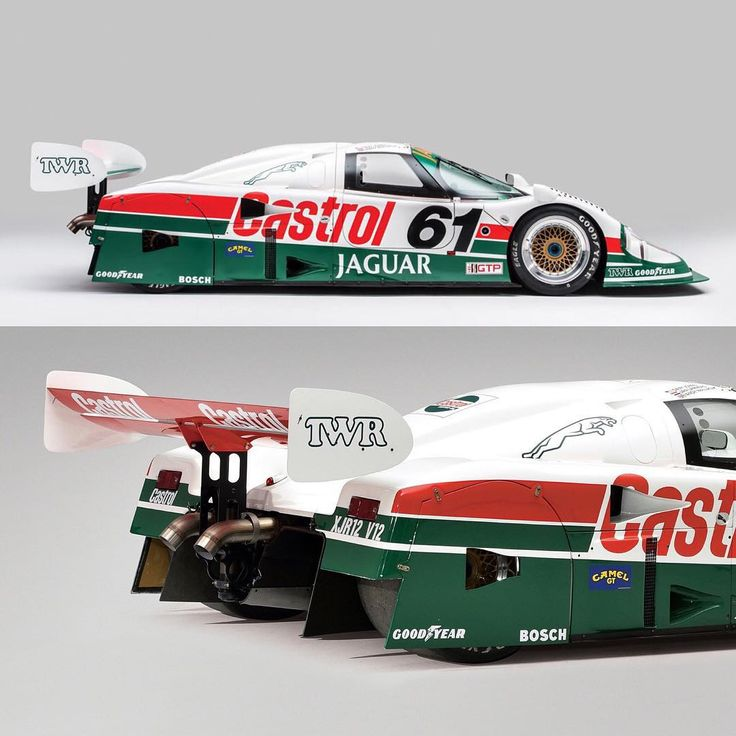 """""""In 1988, Jaguar won the 24 Hours of Le Mans with an entry of five XJR-9 cars. The winning car, driven by Jan Lammers, Johnny Dumfries and Andy Wallace,…"""""""