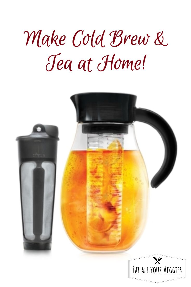 Cold brew, store and serve from a single pitcher with the Flavor Up from  Primula. The 2.7-qt. pitcher comes with an infuser that makes it easy  to create your own special drinks. #ad