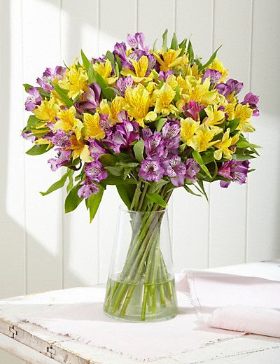 Alstroemeria Bouquet Flowers