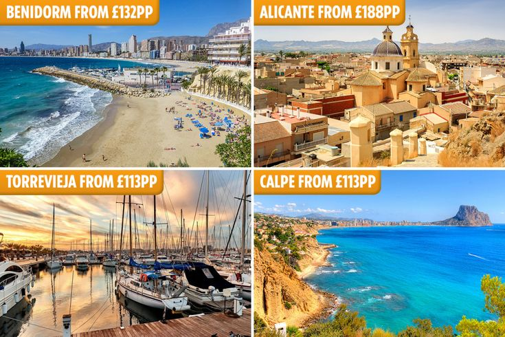 Find cheap Costa Blanca family holiday deals for summer 2019
